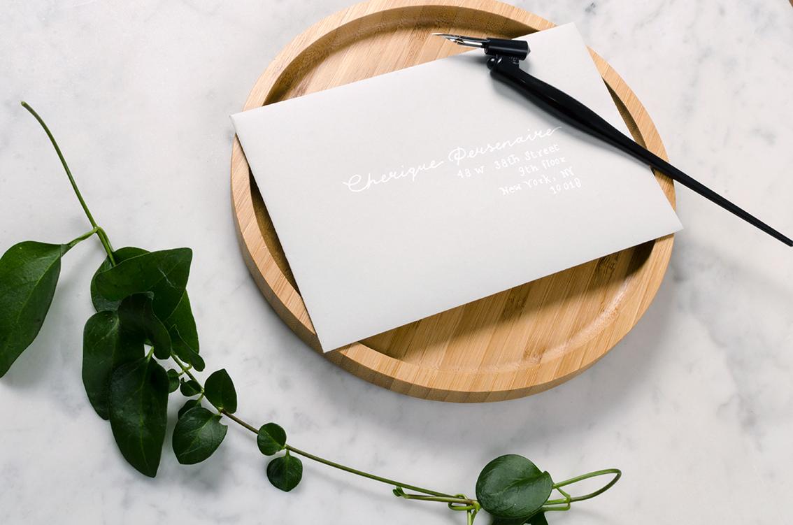 Studio Spruijt wedding invitation